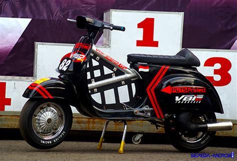 Modifikasi Vespa Excel Racing trik modifikasi vespa racing untuk balapan info sepeda motor