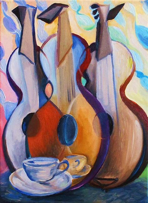 picasso paintings with musical instruments cubism musical instrument cubism