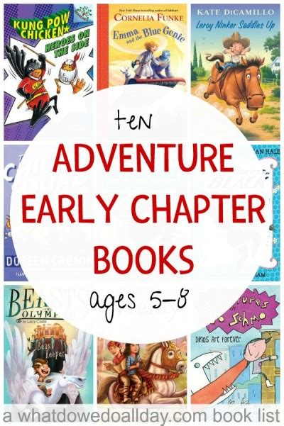 adventure picture books adventure early chapter books for