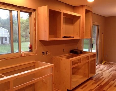 How To Build Kitchen Cabinets Video how to build your own kitchen cabinets