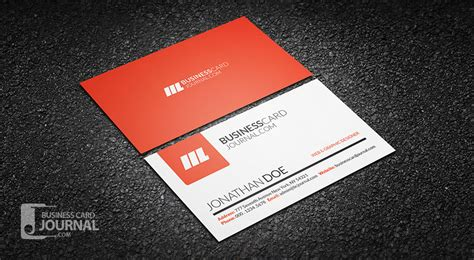 how to make a simple business card free business card templates