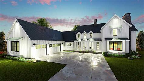 farmhouse style home plans modern 4 bedroom farmhouse plan 62544dj architectural designs house plans