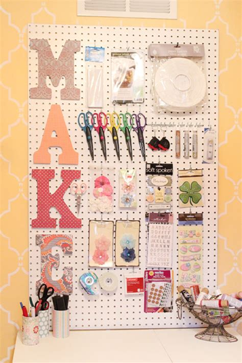 diy crafts with scrapbook paper craft room peg board scrapbook paper letters how to
