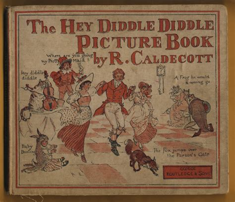 randolph caldecott picture books sergio ruzzier the hey diddle diddle picture book by r