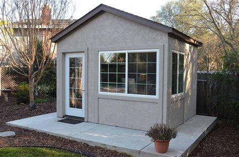cobertizo oficina down to business with this backyard office en 2018 diy
