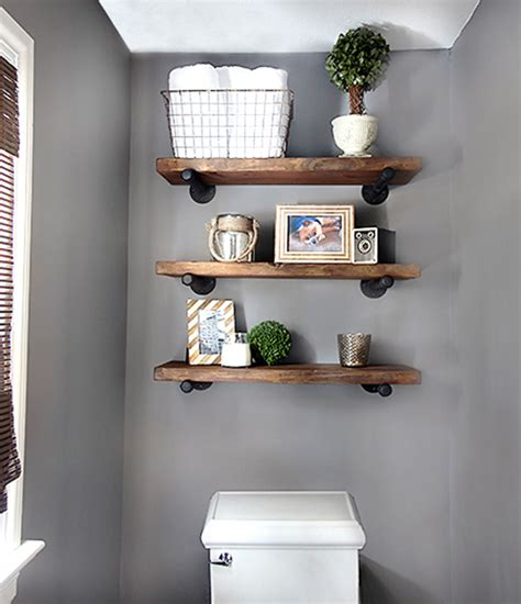 shelves for bathroom diy bathroom shelves to increase your storage space