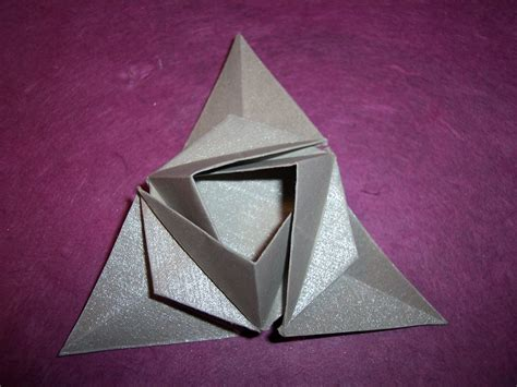 origami triangle geometric container flotsam and origami jetsam
