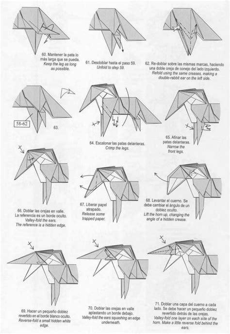 how to make an origami unicorn unicorn origami tutorial xinblog craft ideas