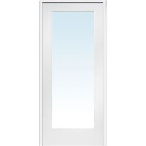interior glass doors home depot builder s choice 48 in x 80 in 10 lite clear wood pine prehung interior door hdcp151040