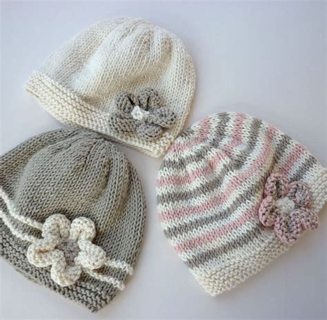 baby hats to knit baby hat pattern pdf knitting pattern baby beanie hat