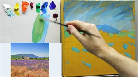 painting tutorial how to paint like monet lessons on impressionist