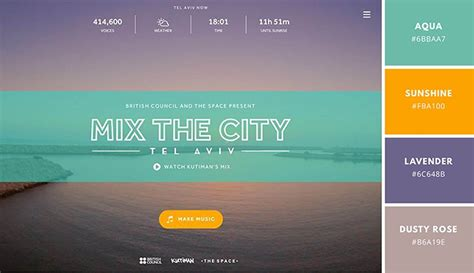 color palette ideas for websites website color schemes the palettes of 50 visually
