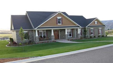 craftsman houses plans single story craftsman house plans single story craftsman