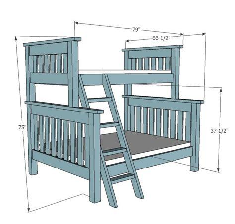 bunk bed plans 25 best ideas about bunk bed plans on loft