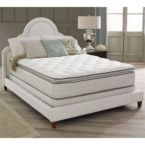 king size bed with 2 mattresses air premium collection noelle pillow top king size