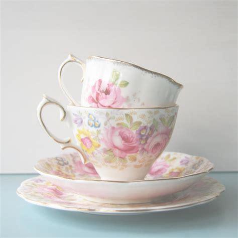 shabby chic tea cups vintage tea cup photo kitchen shabby chic decor pastel