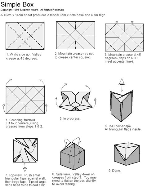 how to fold a origami box amylela writing origami boxes