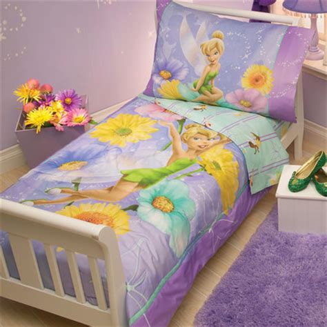 tinkerbell toddler bed set disney tinkerbell garden treasures 4 toddler bedding