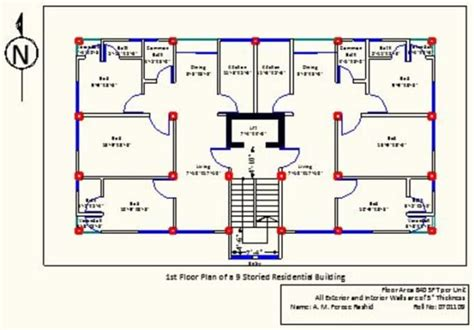 Free Cad Floor Plans plan buildings using autocad 3d studio max solidworks by