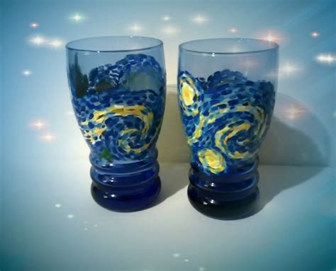 paint nite hanover pa my painting tonight starry inspired glasses