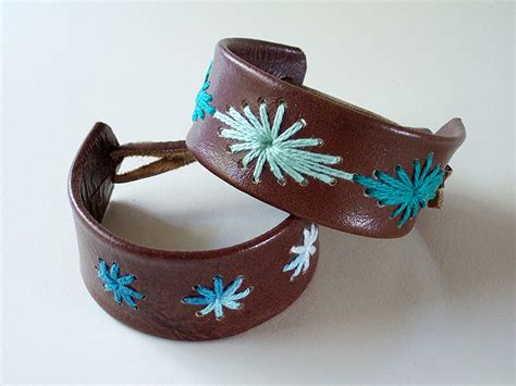 leather craft projects 2011 c craft no 1 stitched leather bracelets a