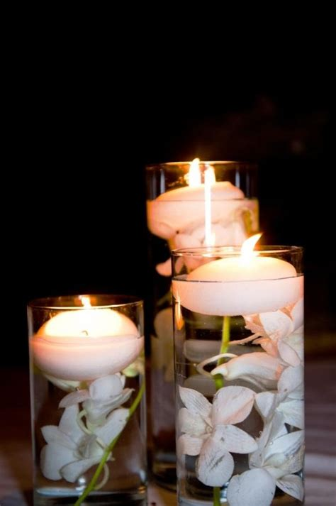 floating candle centerpiece 15 awesome candle table center ideas rilane