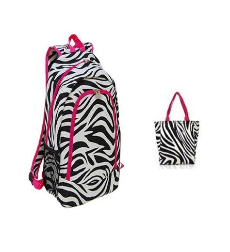 paint colors to match zebra print pink trim zebra print backpack w matching lunch bag
