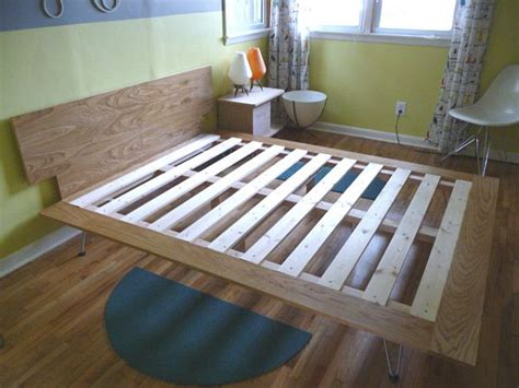 make your own bed frame how to build your own bed from scratch three tutorials