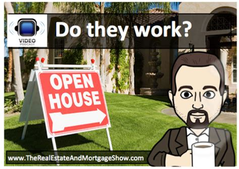 do they work open houses do they work walter monteiro