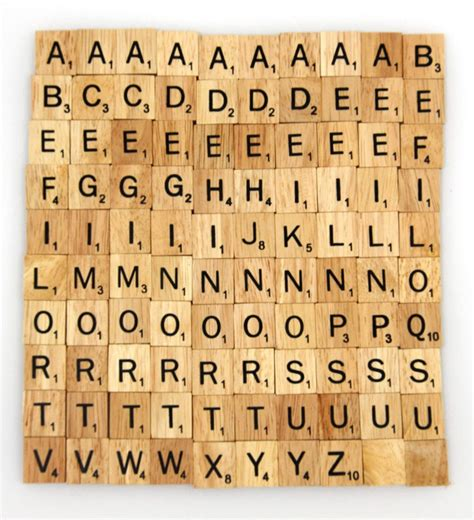 scrabble l words wooden scrabble tiles custom letters set for jewelry