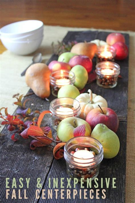inexpensive centerpieces 5 easy and inexpensive fall centerpiece ideas frugal