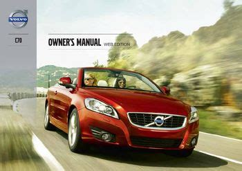 best car repair manuals 2013 volvo c70 on board diagnostic system download 2013 volvo c70 owner s manual pdf 296 pages
