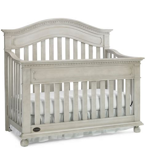 grey convertible crib dolce babi naples convertible crib in grey satin