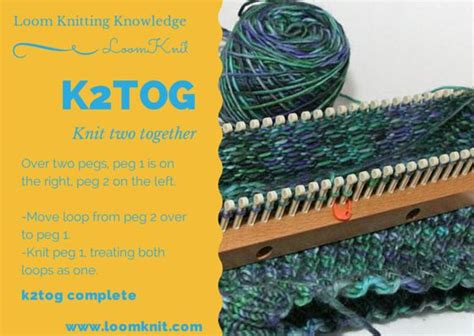 how to knit k2tog 1000 images about loom knitting patterns on