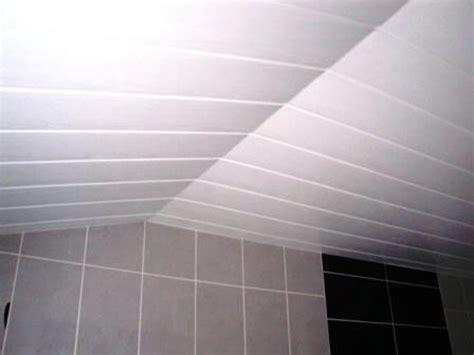 lambris pvc pour plafond salle de bain obasinc