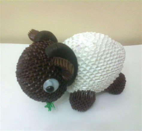 3d origami sheep sheep album mohammad nofal 3d origami