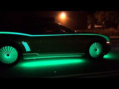 glow in the paint illegal on cars glow in the cars by kustom