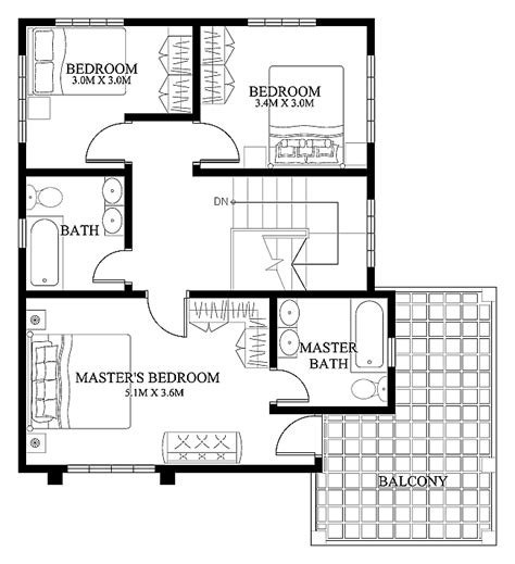 modern houses floor plans mhd 2012004 eplans modern house designs small