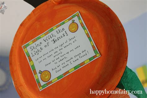 christian craft for a christian pumpkin windsock craft free printable