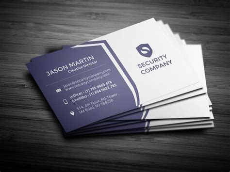 card companies check out security company business card by bouncy on