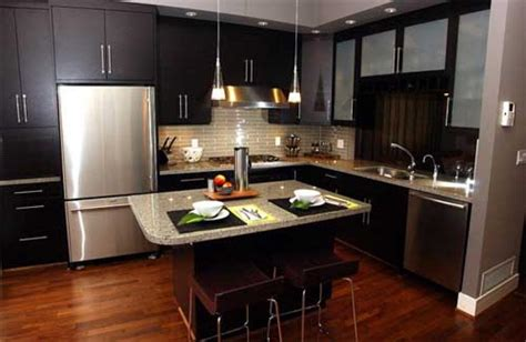 small kitchen with black cabinets beautiful modern kitchen cabinet design idea affordable
