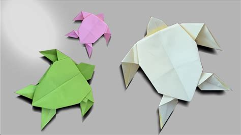 how to make an origami tortoise how to make an easy origami turtle easy paper origami
