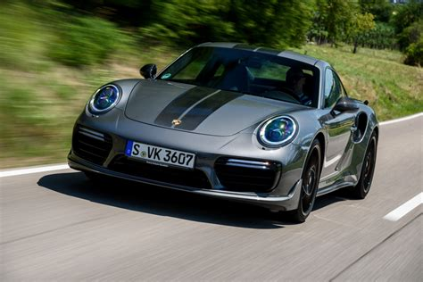 Porsche Turbo S by 911 Turbo S Exclusive Series Agate Grey Metallic Porsche