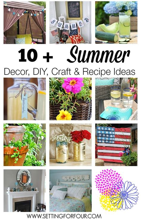diy summer craft projects in the sun link 250 giveaway setting