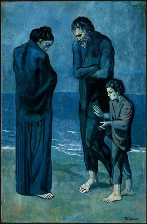 picasso paintings the tragedy 301 moved permanently