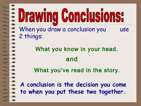 picture books for drawing conclusions draw conclusions ms logan s class site