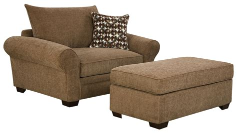 large living room chairs 5460 large chair and a half ottoman set for casual