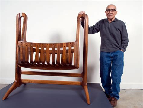 maloof woodworking new exhibit features never seen before works by sam maloof