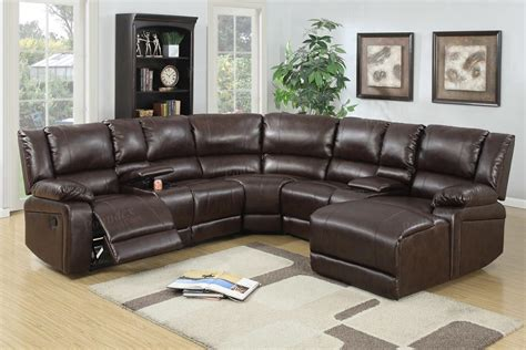 brown leather sofa sectional 5 pcs reclining sectional brown leather sofa set