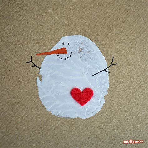 snowman cards to make mollymoocrafts diy cards potato printed snowman